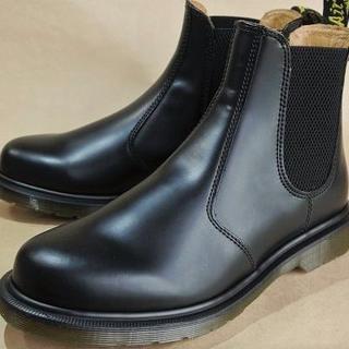 ドクターマーチン(Dr.Martens)のDr.Martensサイドゴアブーツ黒本革No.2976 UK6.0 (TH)(ブーツ)