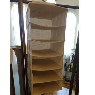ムジルシリョウヒン(MUJI (無印良品))の無印良品 吊り下げる収納 クローゼット(押し入れ収納/ハンガー)