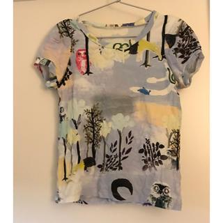 カミシマチナミ(KAMISHIMA CHINAMI)のカミシマチナミ プリント tシャツ (Tシャツ(半袖/袖なし))