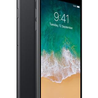 アイフォーン(iPhone)のiPhone 7 Plus 128GB SIMフリー Jet Black9108(スマートフォン本体)
