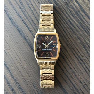 CABANE de ZUCCa - カバンドズッカ 腕時計 〈希少〉ゼロリセット ゴールドCABANEdeZUCCa