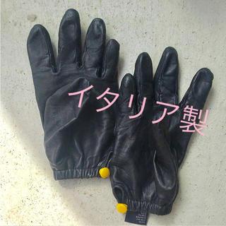 バーニーズニューヨーク(BARNEYS NEW YORK)の手袋 皮手袋 アームウォーマーイタリア製(手袋)