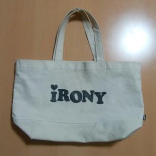 アイロニー(IRONY)のアイロニー トートバッグ(トートバッグ)