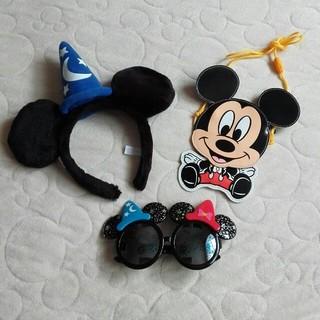 ディズニー(Disney)のディズニーリゾート ミッキーマウスセット(サングラス/メガネ)