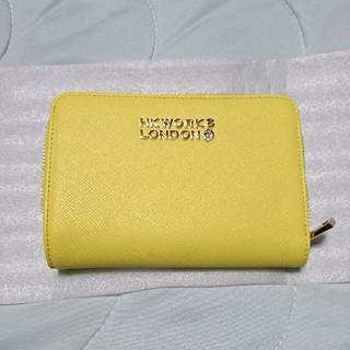 シマムラ(しまむら)のHK WORKS LONDON 二つ折り財布 イエロー しまむら(財布)