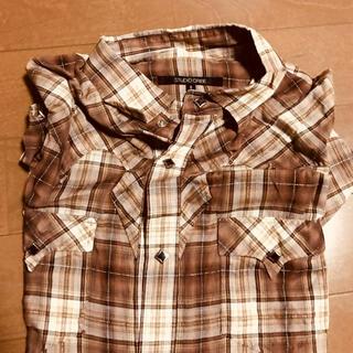 スタジオオリベ(STUDIO ORIBE)のチェックシャツ(シャツ)