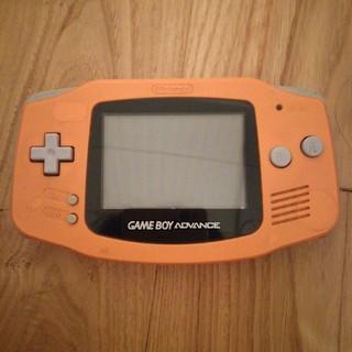 ゲームボーイアドバンス(ゲームボーイアドバンス)のゲームボーイアドバンス 2枚カセット付き(携帯用ゲーム機本体)