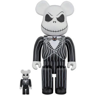 【BE@RBRICK】 Jack Skellington 100% & 400%