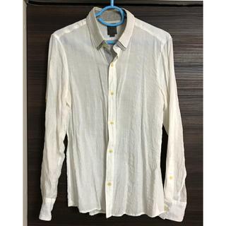 ティノラス(TENORAS)のティノラス、白シャツ、L size、汚れあり(シャツ)