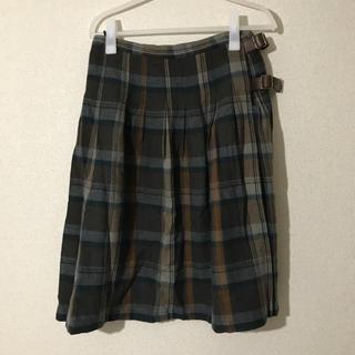 サマンサモスモス(SM2)のSM2☆チェックスカート(ひざ丈スカート)