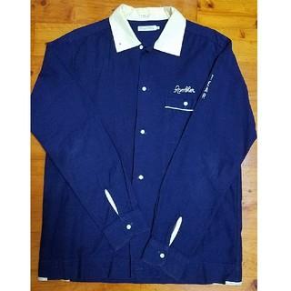 デラックス(DELUXE)の美品 デラックス ボーリングシャツ M(シャツ)