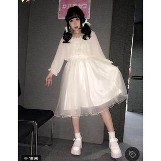 リズリサ(LIZ LISA)のチュールスカート(ひざ丈スカート)