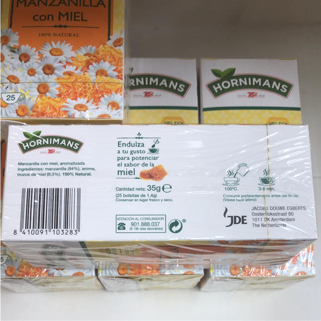 HORNIMANS 蜂蜜入りカモミール紅茶 3箱価格 食品/飲料/酒の飲料(茶)の商品写真