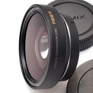 パナソニック(Panasonic)のパナソニック DMW-GFC1 フィッシュアイコンバージョンレンズ(レンズ(単焦点))