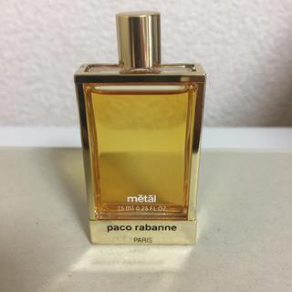 パコラバンヌ(paco rabanne)のパコラバンヌ メタル 7.5ml(香水(女性用))