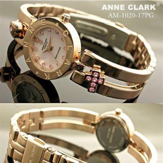 アンクラーク(ANNE CLARK)のキラキラ時計(シルバー(腕時計)