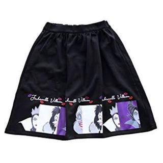 ディズニー(Disney)の【すいか。様専用】ヴィランズスカート(ひざ丈スカート)