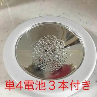 LEDライト コースター レインボー ハーバリウム(インテリア雑貨)