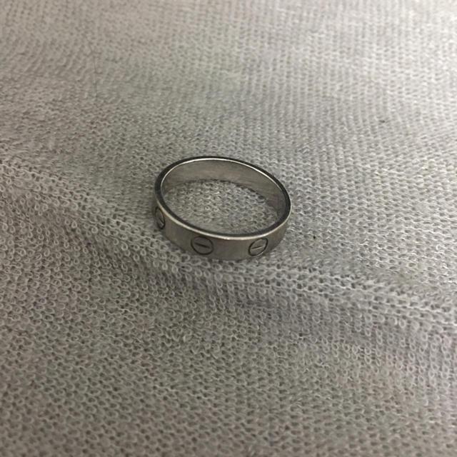 Cartier(カルティエ)の黒豹さん専用カルティエ ラブリング cartier レディースのアクセサリー(リング(指輪))の商品写真