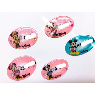 ディズニー(Disney)のプラ板 ディズニー ネームキーホルダー(キーホルダー/ストラップ)