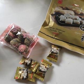 台湾 開花茶カーネーション となりのお茶とセットでお安く(茶)