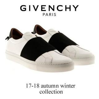 ジバンシィ(GIVENCHY)の【2】 GIVENCHY 17aw ホワイト スニーカー size 41(スニーカー)
