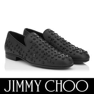 ジミーチュウ(JIMMY CHOO)のJIMMY CHOO スリッポンシューズ SLOANEOMX size 42(スリッポン/モカシン)