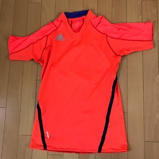 アディダス(adidas)のアディダス(adidas) サッカープラクティス半袖シャツ(メンズ)(Tシャツ/カットソー(半袖/袖なし))
