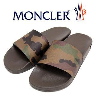 【4】 MONCLER サンダル/シャワーサンダル size 43(サンダル)