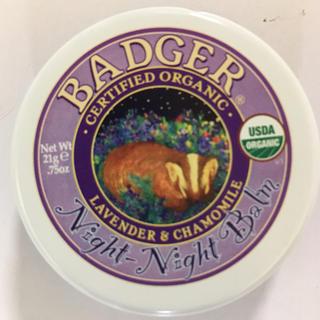 バジャー(Badger)のバジャー night-night-balm ナイトナイトバルム (アイケア / アイクリーム)
