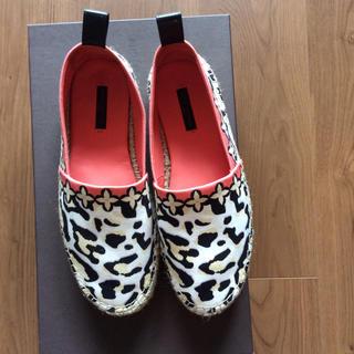 ルイヴィトン(LOUIS VUITTON)の正規品 美品ルイヴィトン靴(スリッポン/モカシン)