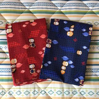 シマムラ(しまむら)の長座布団カバー 2枚セット 新品未使用(クッションカバー)