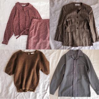 made in ITALY Linen Jacket(ノーカラージャケット)