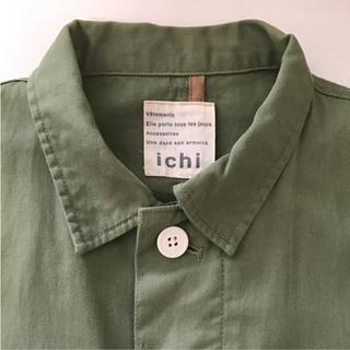 イチミリ(ichi-miri)の美品 ICH⭐️コート チャイルドウーマン ナチュラルランドリー パーリッシィ(スプリングコート)