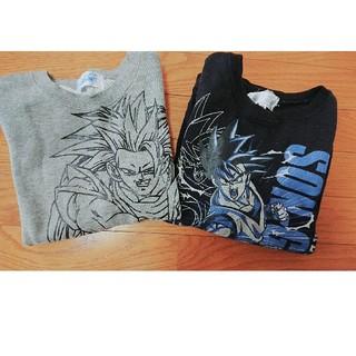 ドラゴンボール(ドラゴンボール)のドラゴンボール トレーナー2枚組(Tシャツ/カットソー)