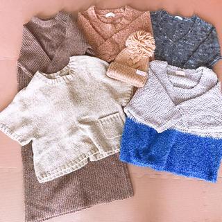 ローリーズファーム(LOWRYS FARM)の秋、冬服まとめ売り(ニット/セーター)
