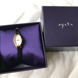 アガット(agete)のagete☆エナメルベルト時計(腕時計)