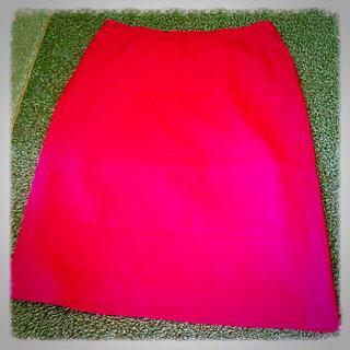 スープ(SOUP)の【SOUP】ピンクスカート単品(ひざ丈スカート)