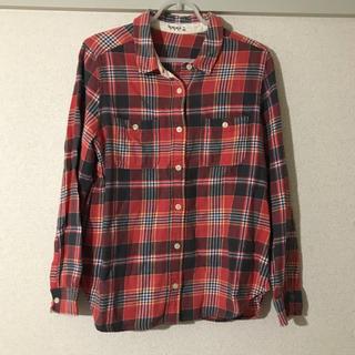 サマンサモスモス(SM2)のSM2☆赤チェックシャツ(シャツ/ブラウス(長袖/七分))