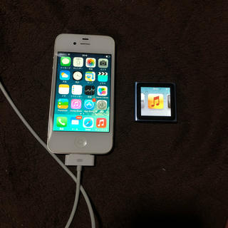 iPhone4 ipod nano 6世代 セット