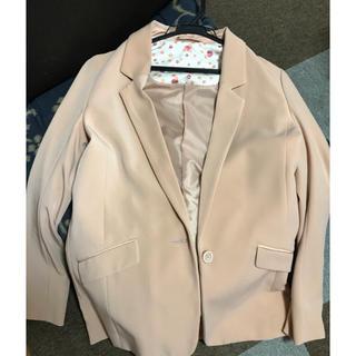 ジーユー(GU)のピンクジャケット(テーラードジャケット)