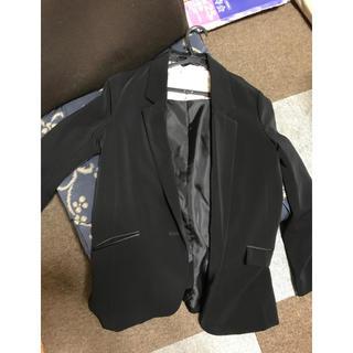 ジーユー(GU)のジャケット ブラック(テーラードジャケット)