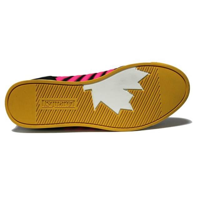 DSQUARED2(ディースクエアード)の【31】 DSQUARED2 ネオンカラー スニーカー size 44 メンズの靴/シューズ(スニーカー)の商品写真