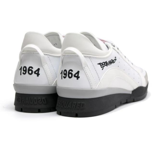 DSQUARED2(ディースクエアード)の【45】 DSQUARED2 ホワイト スニーカー size 41 メンズの靴/シューズ(スニーカー)の商品写真