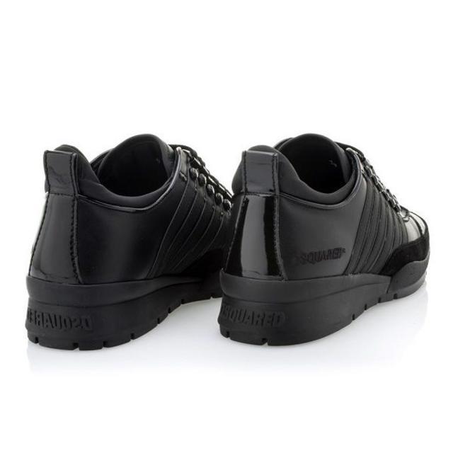 DSQUARED2(ディースクエアード)の【52】 DSQUARED2 ブラック スニーカー size 41 メンズの靴/シューズ(スニーカー)の商品写真