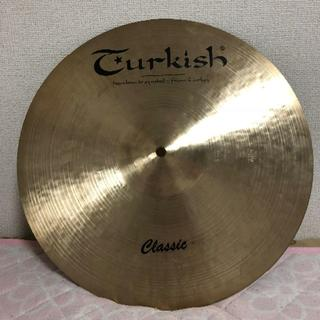 Turkish classic Medium Thin Crash 16(シンバル)