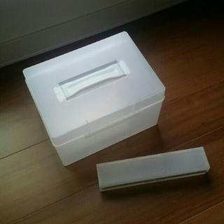 MUJI (無印良品) - 無印良品救急箱とラップケースセット