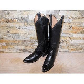トニーラマ(Tony Lama)の最高級品 トニーラマ TonyLama シンプルウエスタン 黒 2323,5cm(ブーツ)