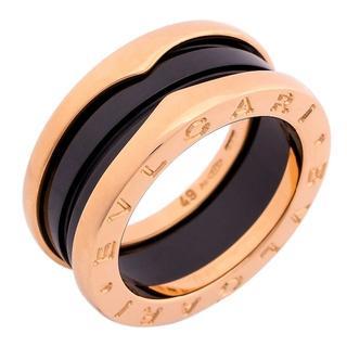 ブルガリ(BVLGARI)のブルガリ 指輪 ビーゼロワン 3バンド リング 100625(リング(指輪))