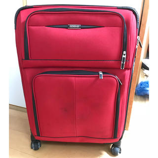 アメリカンツーリスター(American Touristor)のAMERICAN TOURISTERの拡張型布製スーツケース(旅行用品)